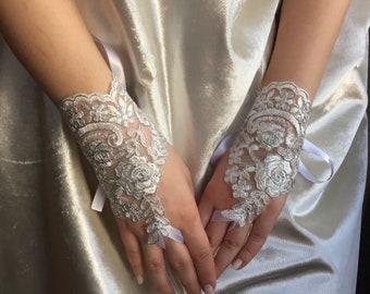 Wedding Gloves Fingerless, Lace Wedding Gloves, Wedding Gift, Hand Jewelry Wedding, Lace Gloves Wedding, Summer Wedding, Bridal Shower Gift