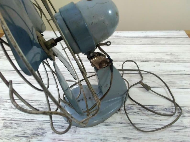 Vintage Electric Fan Handy Breeze Electric Fan Silex Vintage Metal Fan