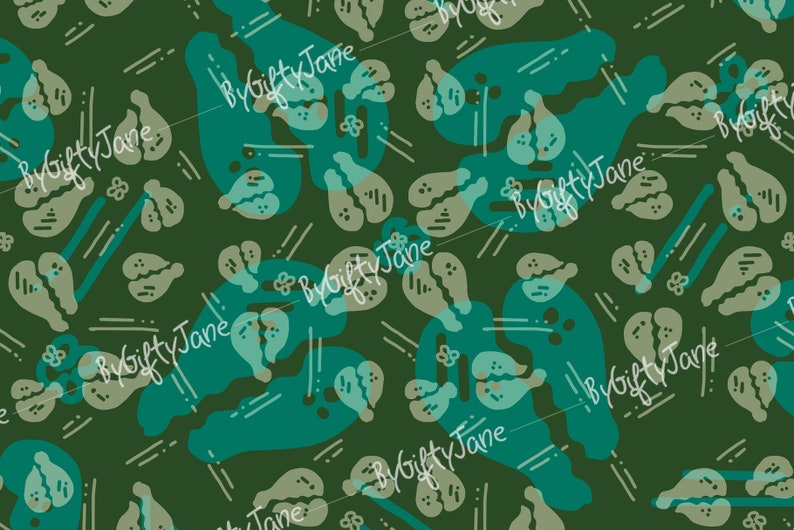 Cowries Batik Pattern