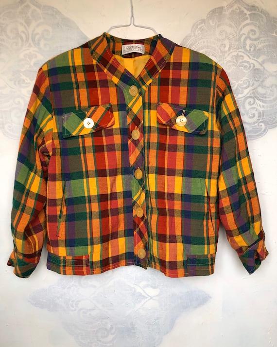Lilli Ann Multicolored Jacket Size S