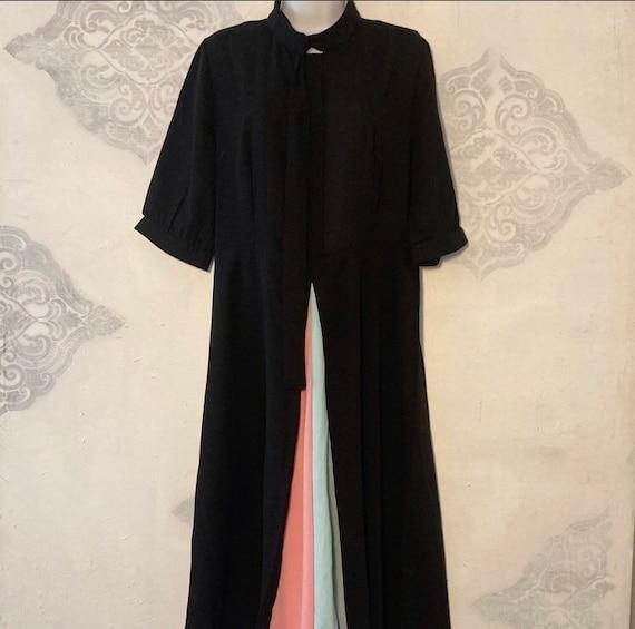 Kimilili Vintage Pleated Maxi Dress Size XL