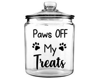 6b908ef691d0 Personalized Pet Treat Jar - Dog Treat Jar - Custom Pet Treat Jar - Personalized  Treat Jar - Dog Gift - Puppy Gift - Dog Bone Jar - Pet Gift