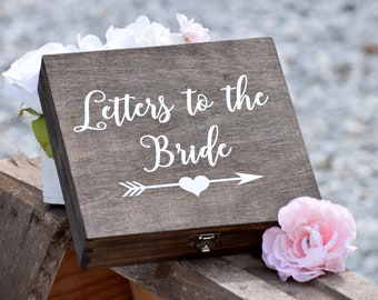 dw letters to the bride box bridal box gifts for the bride anniversary box love letter box keepsake box grooms gift bride gift