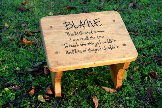 Stupendous Personalized Kids Stepping Stool Rustic Decor Childrens Step Stool Bathroom Stool Wood Stool For Kids Gift For Kids Step Stool Ibusinesslaw Wood Chair Design Ideas Ibusinesslaworg