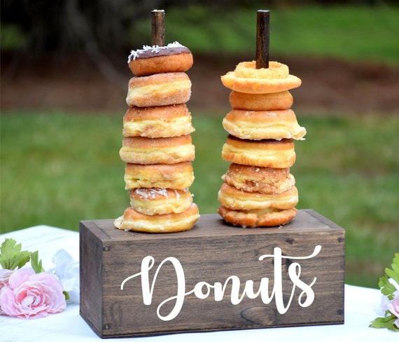 Wondrous Wedding Donut Stand Donut Holder Donut Bar Wedding Cake Alternative Dessert Table Donut Display Doughnut Decorations Dessert Bar Ocoug Best Dining Table And Chair Ideas Images Ocougorg