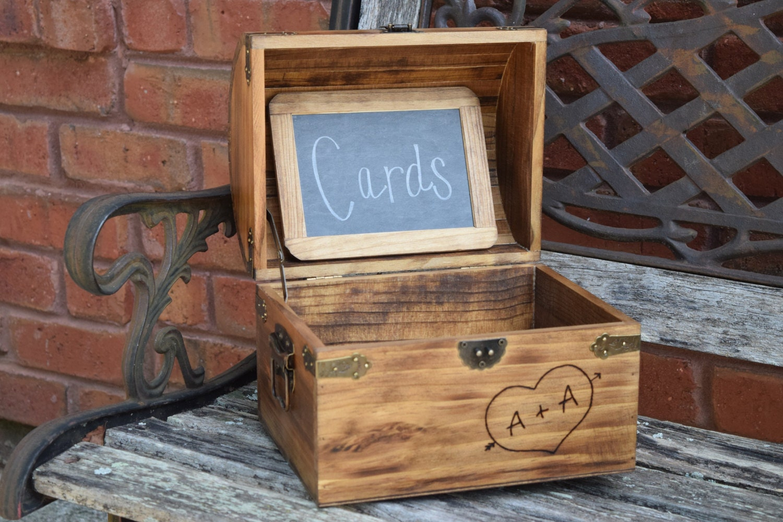 Rustic Card Box Rustic Wedding Decor Wedding Card Box | Etsy - photo#13