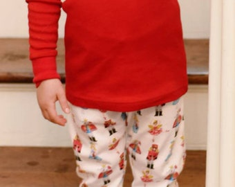 Nutcracker Ballet Christmas Pajamas for Boys and Girls --Embroidered Personalized Customized c196df985