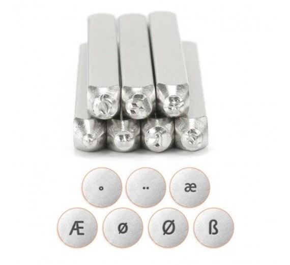 ImpressArt Motif Timbres Hauts C/œur 1-Pack 3/mm