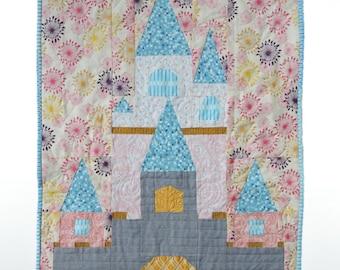 Fairy Tale Castle quilt pattern