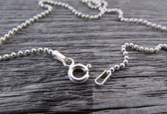 Double Accent 1mm Sterling Silver Italian Chain Necklace High Polished Box Chain 16, 18, 20, 22, 24, 30 Inch
