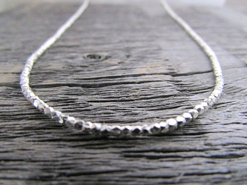 Hill Tribe Pure Silver Bead Necklace 16-20 inches For  ad0417c353