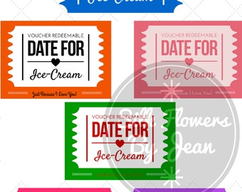 Coupon Printable Instant Download, Kids Coupon, Gift coupon, Love Coupon, Date night coupon, I love you coupon, Anniversary Gift, Mom Coupon