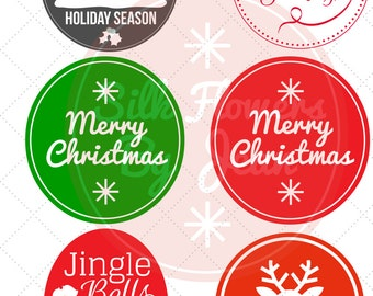 Christmas Tags, Christmas Gift Tags, Kids Gift Tags, Holiday Tags, Gift Christmas Printable Tag for Gifts, Rudolf Tag, Red tags. Green tags