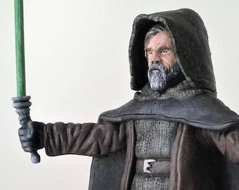 Luke ReImagined - OOAK Clay Sculpture