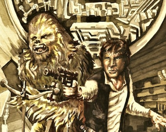 Epic Han and Chewie