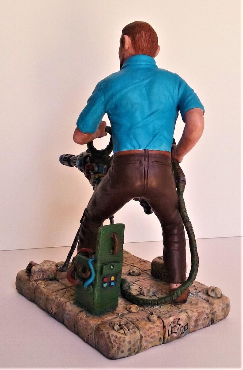Jonny Quest Benton Quest from the classic animated series Dr original sculpture