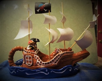 Shiver Me Timbers!  It's a Pirate Gravy Boat