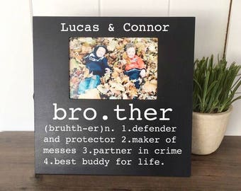 Brother Picture Frame Buddy For Life Big Little Gifts Gift Birthday
