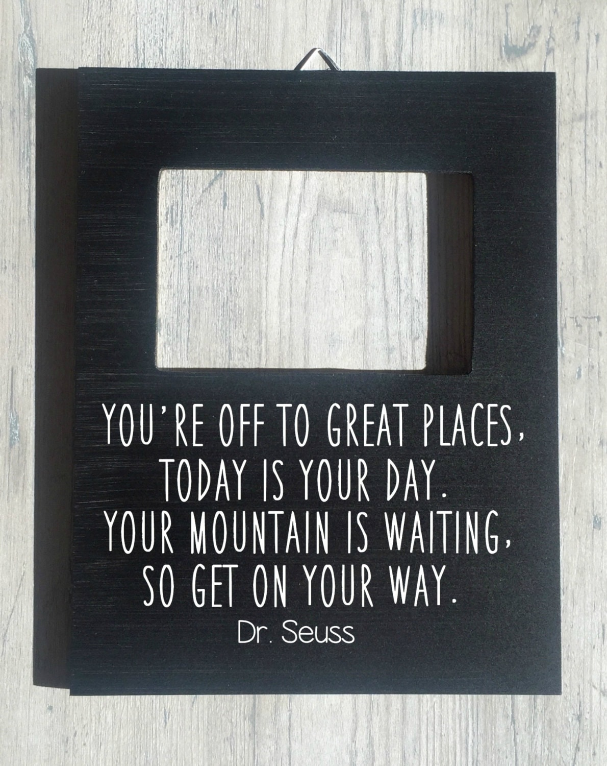 Custom Quote Frame Dr. Seuss You\'re Off to Great Places | Etsy