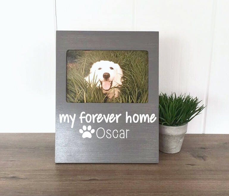 Personalized Dog Picture Frame Rescue Dog Gift Gift for Dog | Etsy