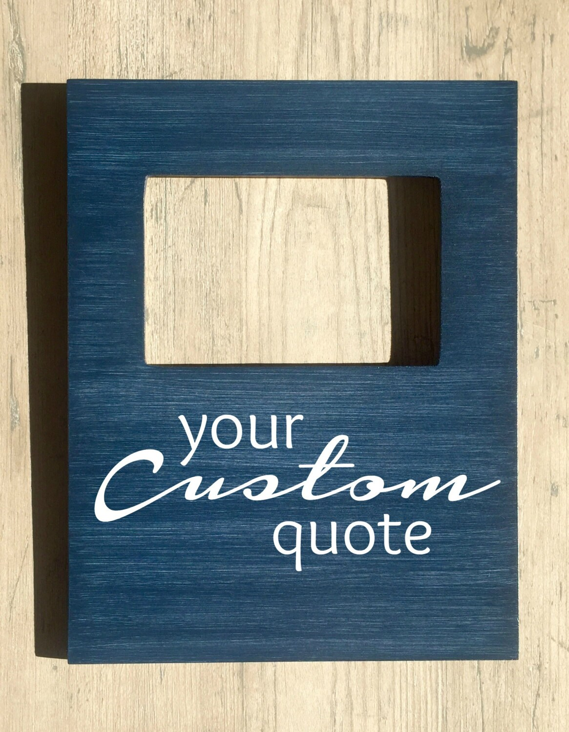 Custom Quote Picture Frame, Personalized Picture Frame, Custom Song ...