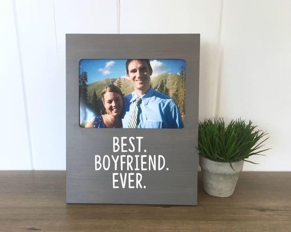Picture Frame For Boyfriend Boyfriend Valentines Day Etsy