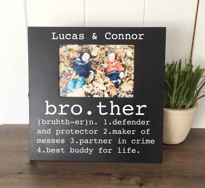 Brother Picture Frame Buddy For Life Big