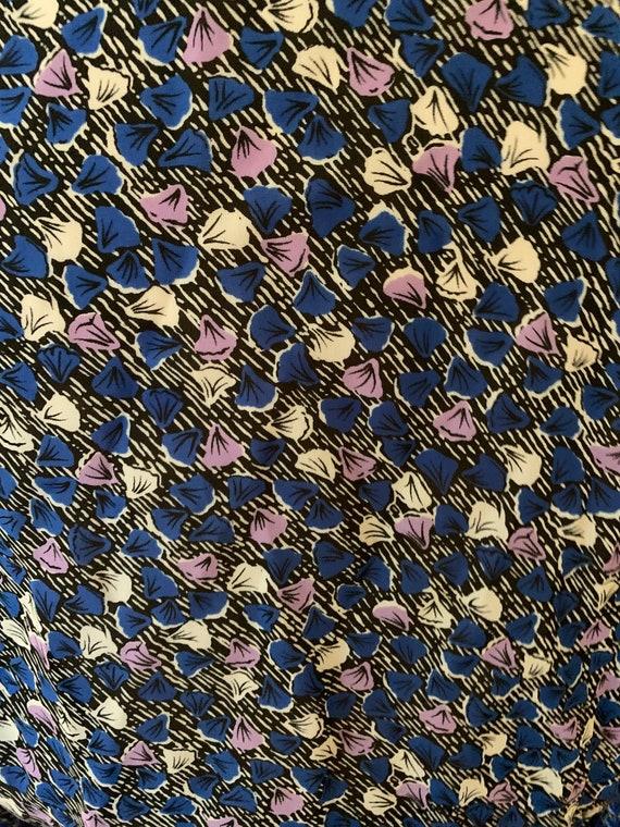 1970's Shirt Dress w Belt - image 5