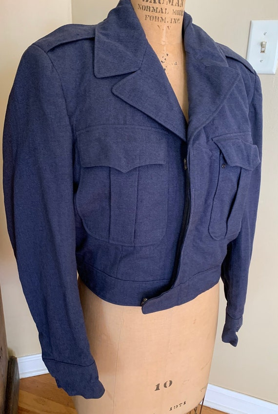 1950's Blue Denim Workwear Jacket