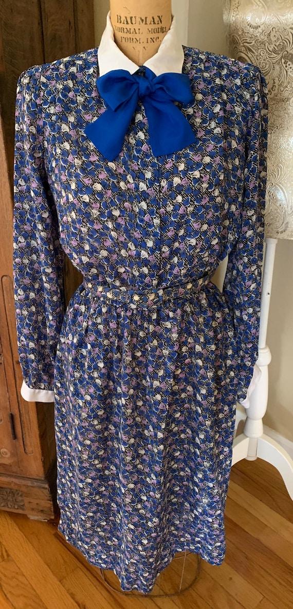 1970's Shirt Dress w Belt - image 7