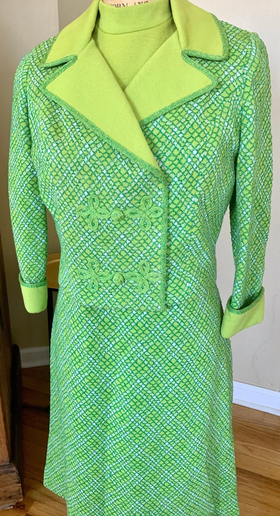 1960's Lime Green Set