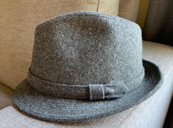 1970's Gray Wool Fedora - image 1
