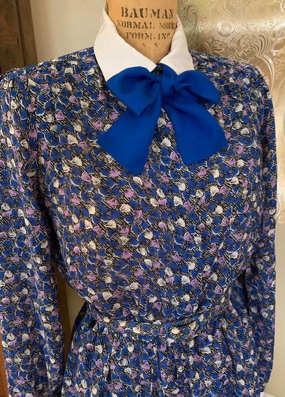 1970's Shirt Dress w Belt - image 1