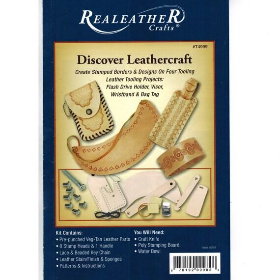 Realeather Laced Key Fob Kit