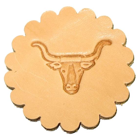 Longhorn 3-D Stamp 88438-00 Leathercraft Stamping Tool