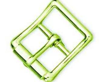 "Strap Buckle Brass 3/4"" / Brass"