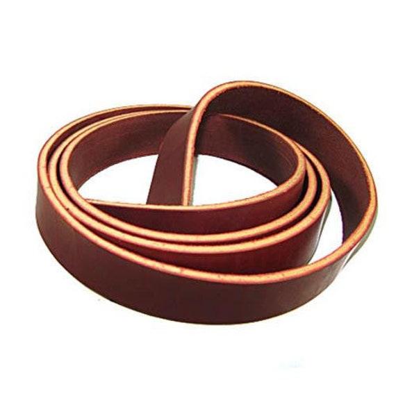 Dangerous Threads Dark Brown Latigo Leather Strip 1//2 x 72