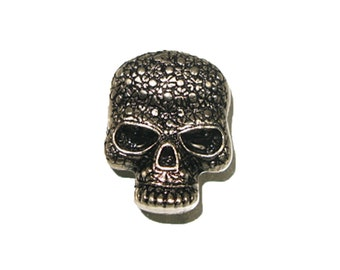 """Skull Floral Concho .75"""" (19mm) 3436-66"""