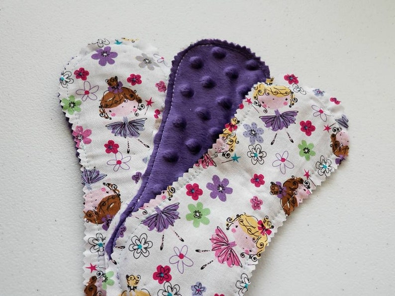 Set of 3 Ready to ship Cloth Panty liners