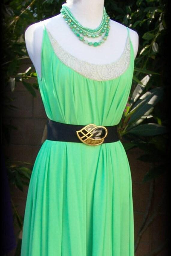 1930s Goddess Dress Night Gown