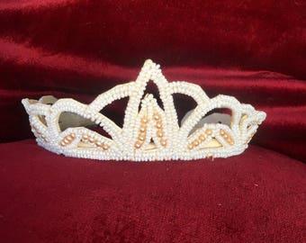 1930s beaded Wedding Tiara
