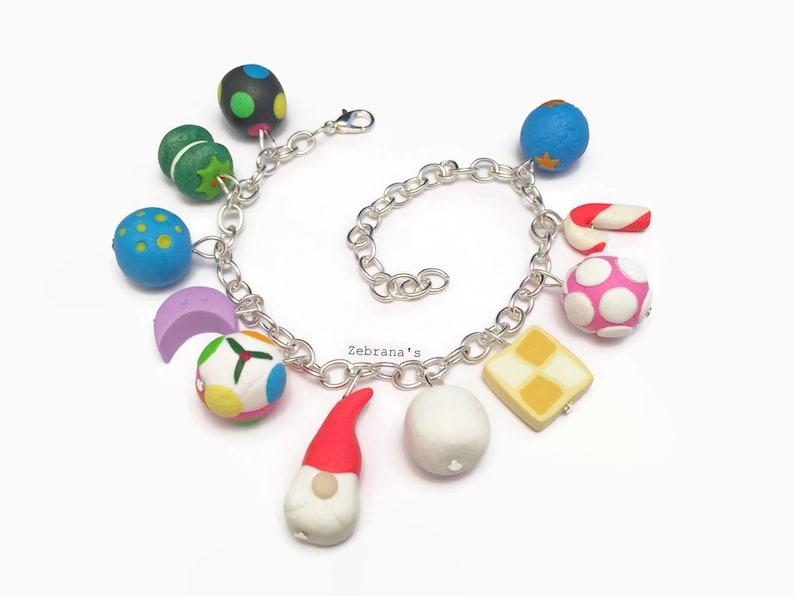 Christmas Bath Bombs Lush.Lush Inspired Bracelet Lush Cosmetics Bracelet Lush Jewelry Bath Bomb Lush Charms Charm Bracelet Lush Christmas 2018 Luxury Lush Pud