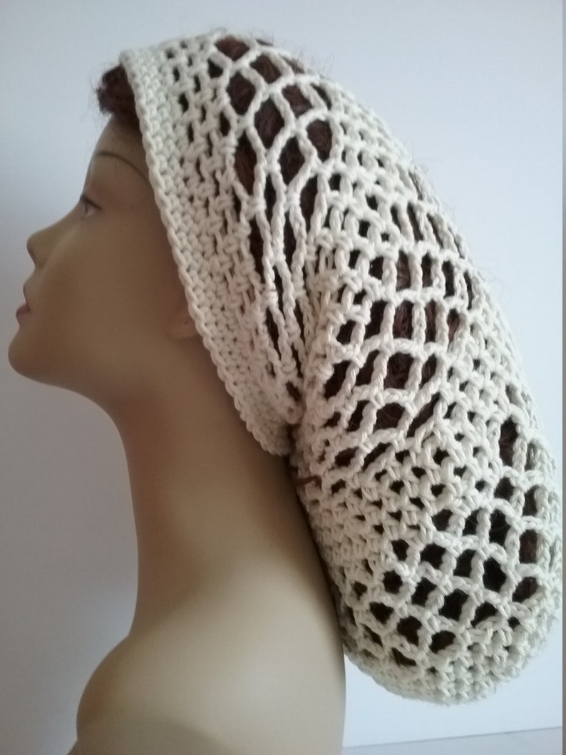 Hippie Hats,  70s Hats Slouchy Hat - Dread Hat - Snood - Rasta Hat - Mesh Hat - Boho Hat - Hippie Hat - Drawstring - Ready To Ship! $29.00 AT vintagedancer.com
