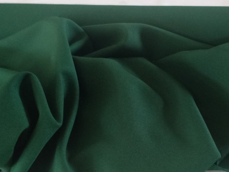 """sewing fabric Free swatch Navy Blue Gabardine Tropical 100/% Polyester 60/""""wide"""