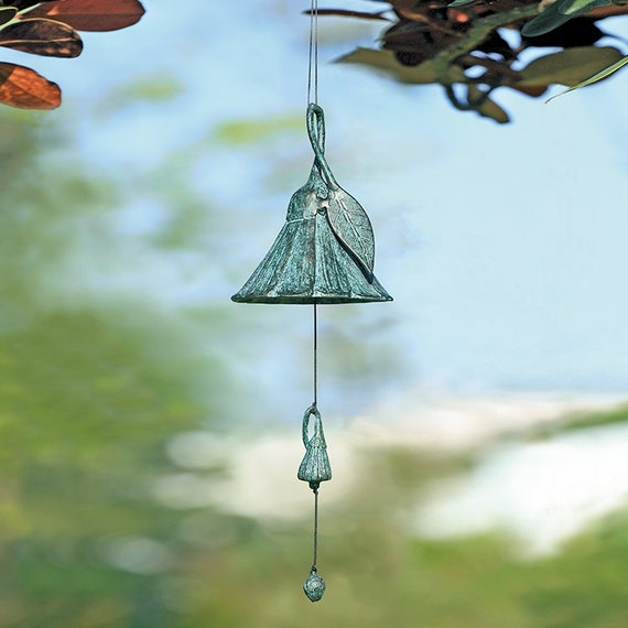 Flower Wind Chime French Country Cottage Barnyard Shabby Etsy