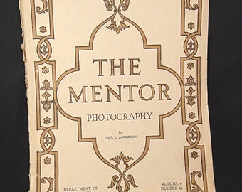 1918 THE MENTOR Magazine: Photography by Paul Anderson (390)