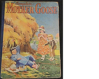 1934 Whitman Publishing CoMPLETE MOTHeR GOOSe (1642)