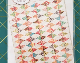 Diamond Lane Quilt Pattern by Gingham Girls