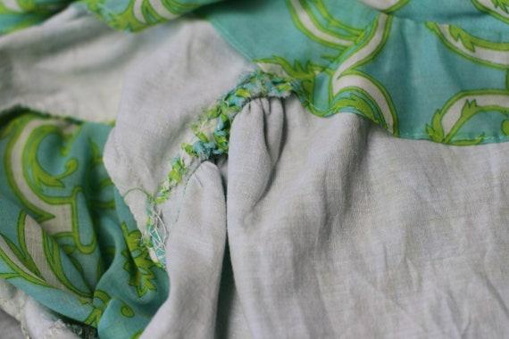 1950's Handmade Cotton Vintage Secretary or Day D… - image 7