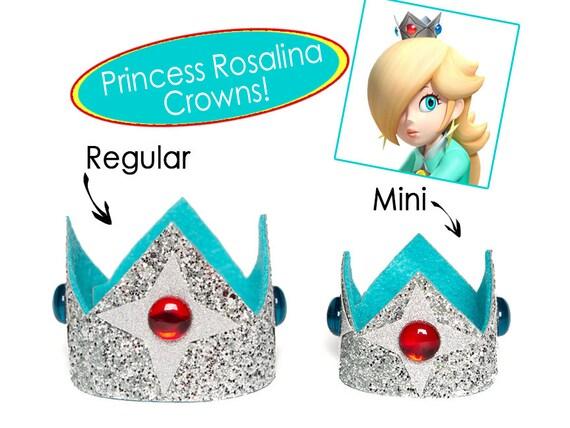 couronne de princesse rosalina super mario bros princesse etsy